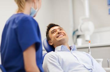 Man with sedation dentistry in fort collins co